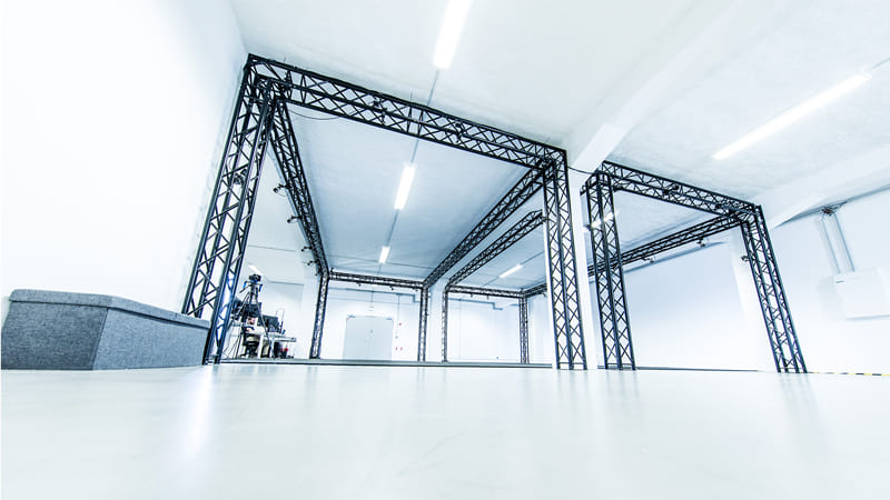 Our motion capture studio in Berlin